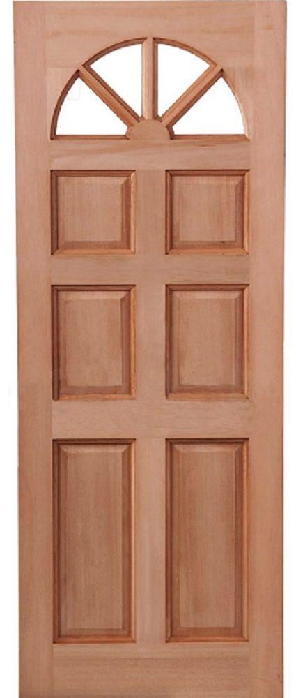 Awesome Leeds Doors Carolina 6 Panel Dowel Hardwood Door 78 X 30   External Doors    Hardwood