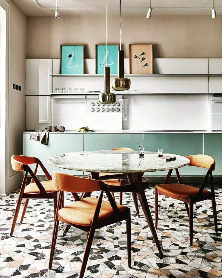 Kitchen Floor Too Good! Rome Apartment By