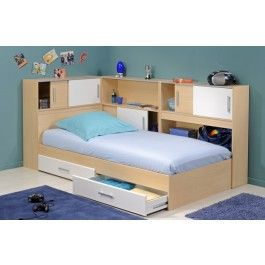 DISCONTINUED Snoop Bedroom Furniture Set 3 - Light Beech