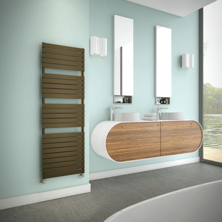 More Contemporary towel rails from Simply Radiators.