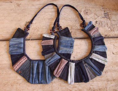 ::: OutsaPop Trashion ::: DIY fashion by Outi Pyy :::: Recycled denim quilts from Julie Floersch