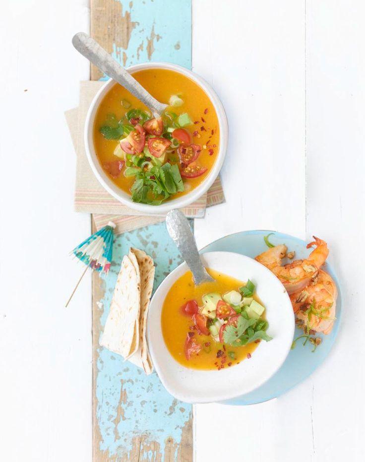 Rezept: Kalte Süßkartoffelsuppe