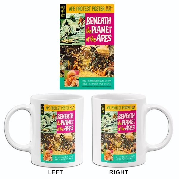 Beneath The Planet Of The Apes 1970 Comic Book Cover Mug In 2020 Mugs Planet Of The Apes Comic Books