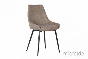 Καρέκλα Bruna με δυνατότητα επιλογής απόχρωσης και με μεταλλικά πόδια. Μια ιδιαίτερα αναπαυτική καρέκλα όπου η κλίση που έχουν τα πόδια της προσθέτει επιπλέον σταθερότητα.  https://www.milanode.gr/product/gr/2374/%CE%BA%CE%B1%CF%81%CE%AD%CE%BA%CE%BB%CE%B1_bruna.html