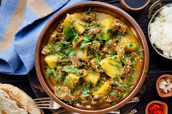 Lamb and potato rendang – Recipes – Bite