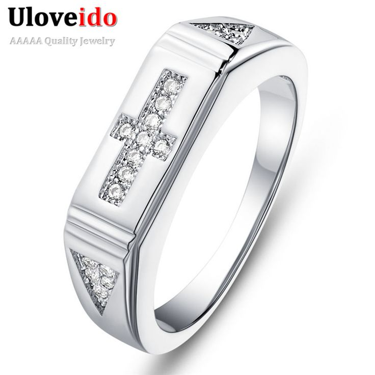 Find More Rings Information about Cross Wedding Rings for Men and Women White Crystal 925 Sterling Silver Ring Vintage CZ Diamond Jewelry Anel Feminino Ulove J613,High Quality ring garnet,China ring carat Suppliers, Cheap ring keyring from ULOVE Fashion Jewelry on Aliexpress.com