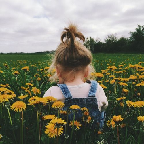 girl in a sunflower field - so cute