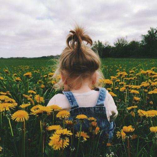 girl in a sunflower field - so cute
