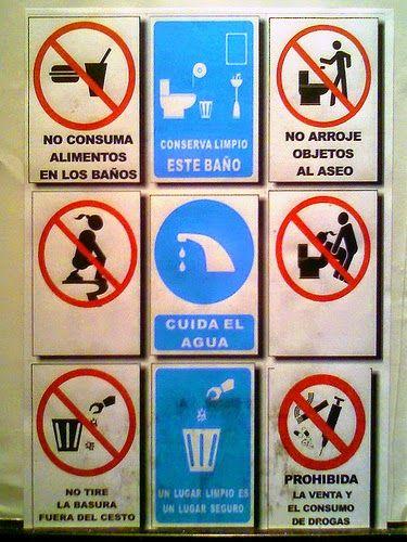 Imagenes Fail: Advertencias