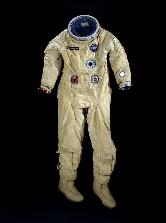 G4-C spacesuit worn by astronaut Gordon Cooper during the ...