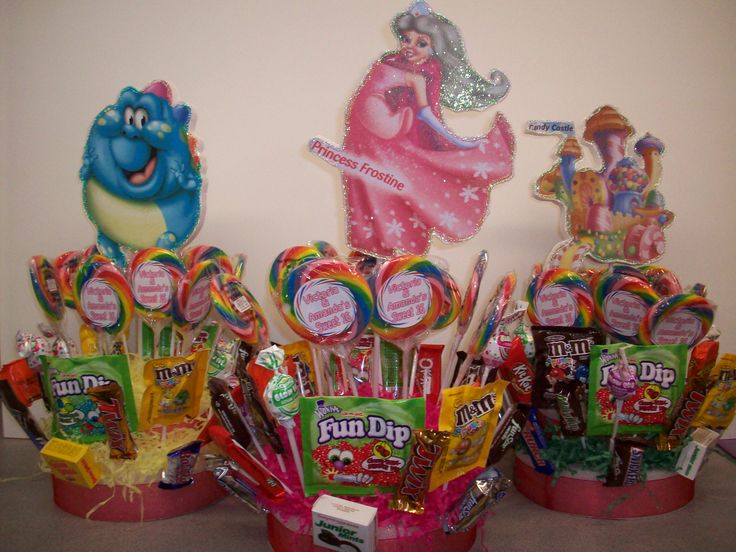 Candy Land Centerpiece With Tiers Of Candy · Ideas PartyParty PartyParty  ThemesParty ...