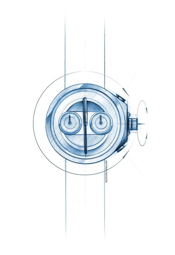 wrist watch design - sketches & renders on Behance