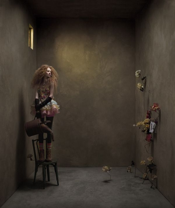 365 by Eugenio Recuenco    Hair: X-presion  Photo: Eugenio Recuenco  Make-up: Lewis Amarante