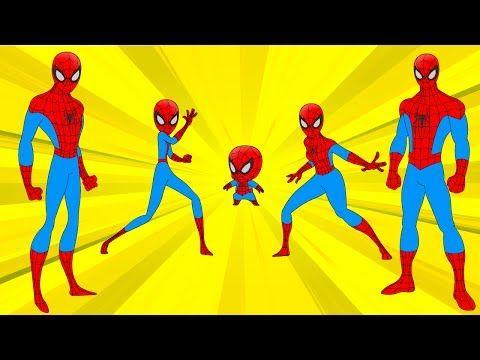 Finger Family Song (Spider man Vs Ant man Finger Family Nursery Rhyme) Finger Family Collection - YouTube