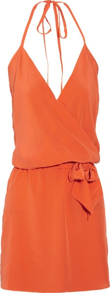Adorable dress - I love this. I love it in orange but of course I would probably get in black... -with a tan