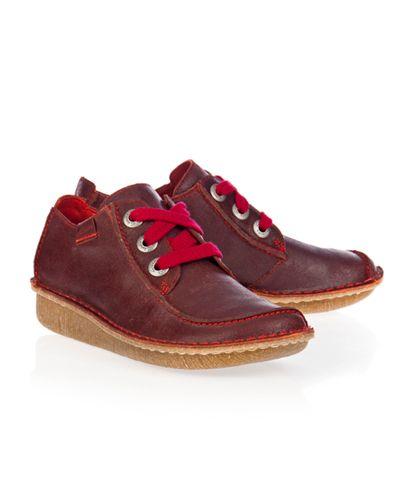 Zapatos Clarks Funny Dream Rojo en Nice & Crazy