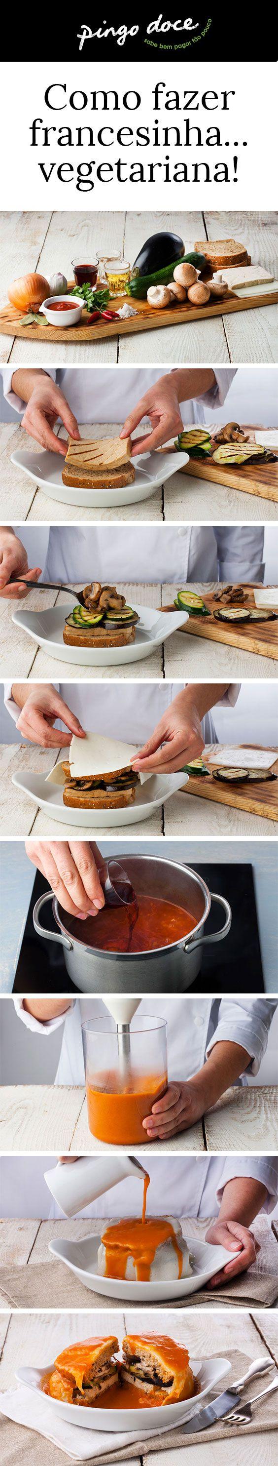 Certamente já experimentou comer uma francesinha, por ventura até já a tentou fazer em casa, mas já pensou em fazer uma versão vegetariana? Veja como fazê-lo.