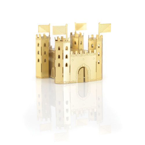 Feel like a mini millionaire with this tiny object of desire – a Castle…