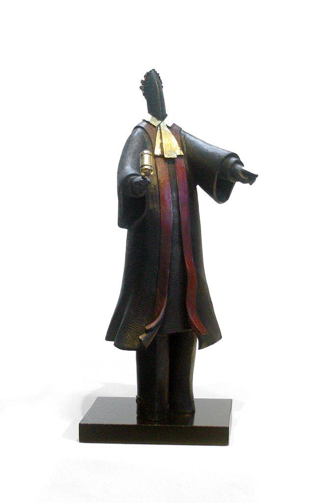 L'honorable juge par Lucie Garant, artiste présentement exposée aux Galeries Beauchamp. www.galeriebeauchamp.com