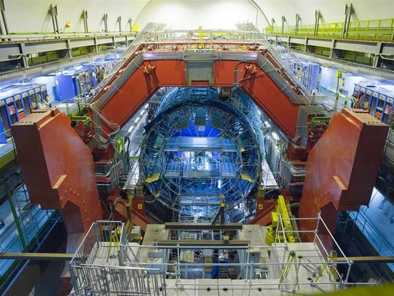 The ALICE Experiment at the LHC studies heavy-ion collisions in search of a quark-gluon soup similar to the state of the early universe.