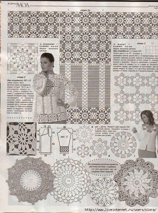 Örgü Bayan Bluzu Uzun Kollu Model Yapılışı ve Şeması (2)