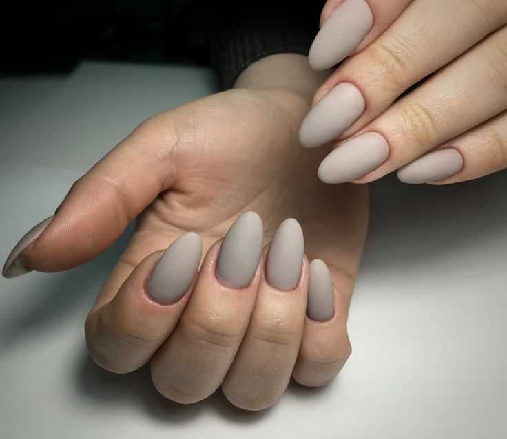 Gel manicure, Matt top, gel design 2017