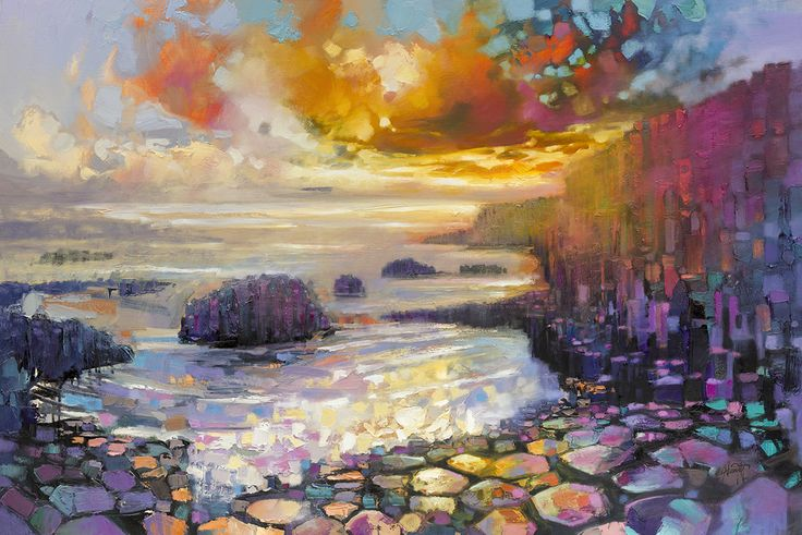 Giants Causeway Limited Edition Print