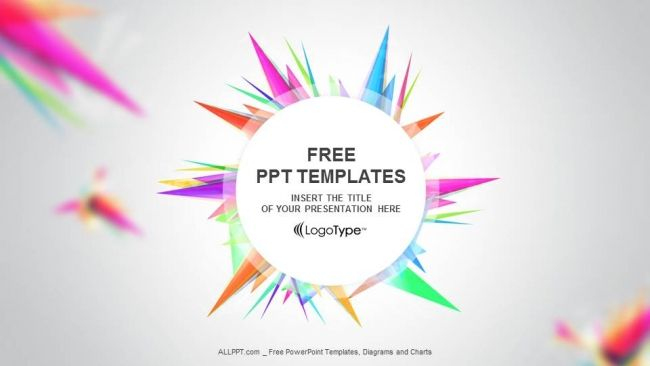 Abstract Triangle-PPT Templates | fisal | Free powerpoint templates