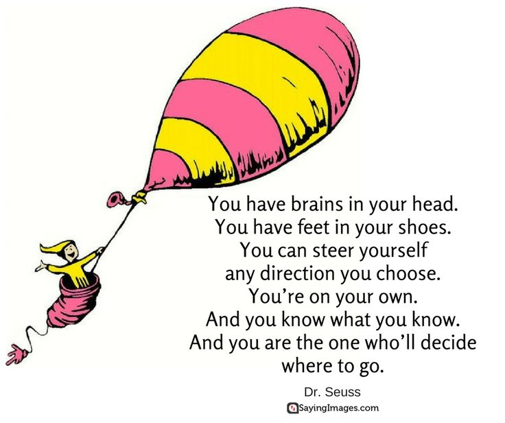 40 Favorite Dr. Seuss Quotes To Make You Smile #sayingimages #drseussquote #drseuss