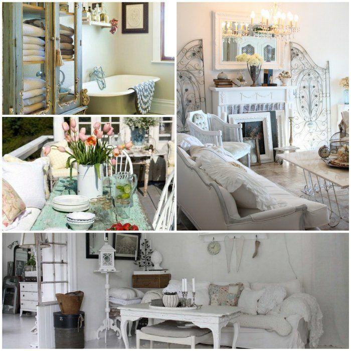 shabby chic deko f r eine romantische note in ihrem. Black Bedroom Furniture Sets. Home Design Ideas