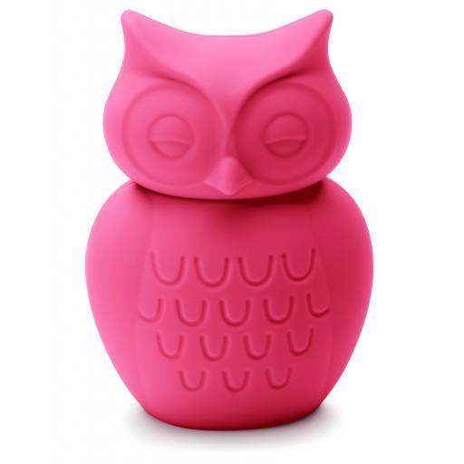 KG Design - Mr. Ugly Spardose Eule, pink