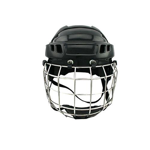 2016 terbaru ice hockey helm dengan baja masker peralatan olahraga untuk kepala memenuhi standar CE