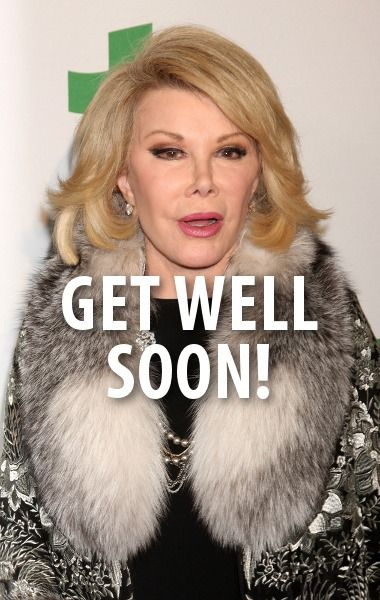 Today Show hosts talked about Joan Rivers' condition and wished her well. http://www.recapo.com/today-show/today-show-news/today-brad-pitt-angelina-jolie-wedding-joan-rivers-condition/