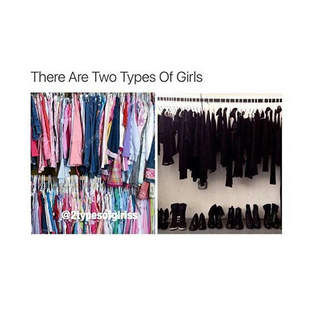 Lets be real theres 3 cause while I wear alot of black I dont wear that much.I have color too like  blues,mints,and coral.lol