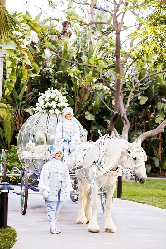 気分はまるでシンデレラ♡アメリカ、カリフォルニアのディズニーランドのウェディングは映画のあのかぼちゃの馬車が登場!?アメリカでの結婚式一覧♡ウェディング・ブライダルの参考に♪