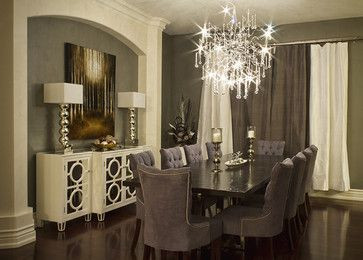 Elegant Dining Room - modern - dining room - toronto - Beyond The Stage Homes