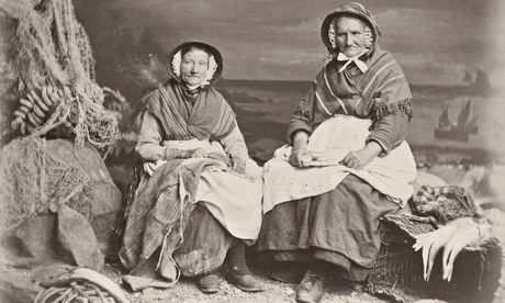 Fishwives from Newlyn: circa 1875. (photograph: Sean Sexton/Hulton Archive/Getty Images)