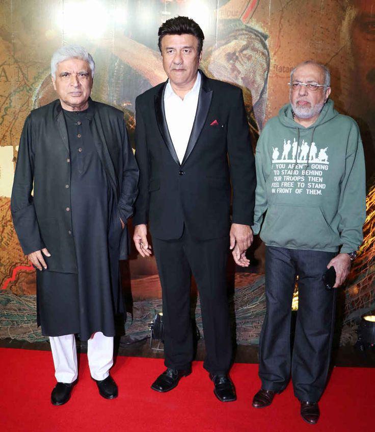 bollywoodmirchitadka: Javed AKhtar, Anu Malik and J. P. Dutta at 'Border...