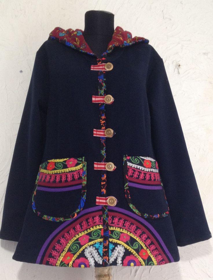Ethnic hoodie