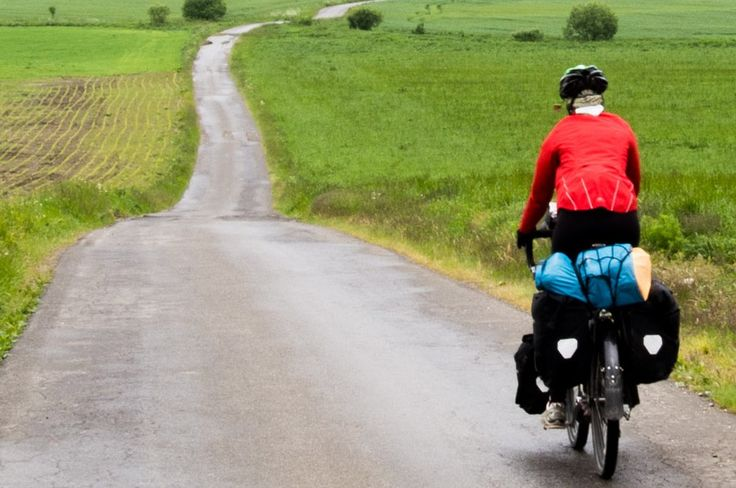 """When cycle touring, it's almost impossible to have the smooth without the crunchy."