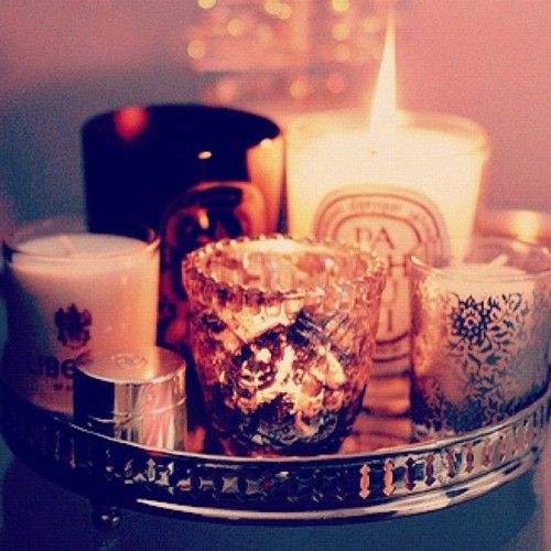 vanity tray for candles -- yes.