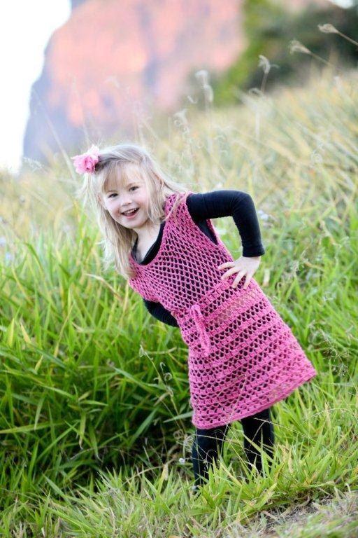 Aliyah crocheted girls top