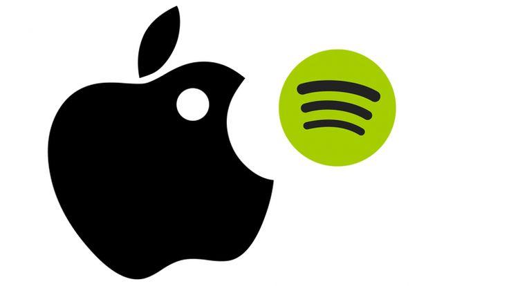 Briga de gigantes: Spotify X Apple
