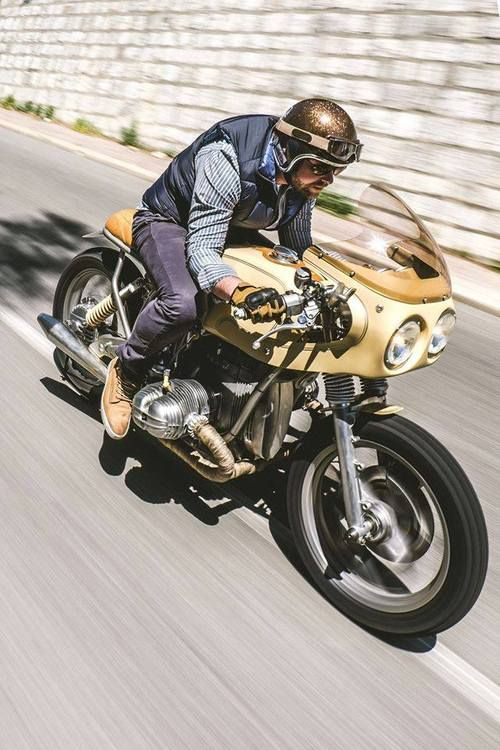 Café racer BMW by JERIKAN Nice, France.Classic Car Art&Design @classic_car_art #ClassicCarArtDesign