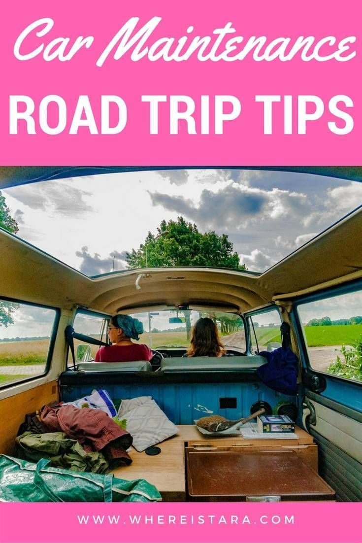 Everything you need to know to keep your vehicle in tip-top condition on your next big road trip.