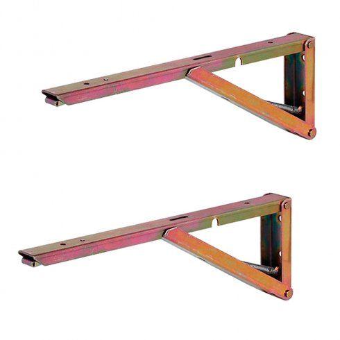 Buy 2 X Hafele Wall Mounted Folding Table Bench Shelf Brackets Hinged