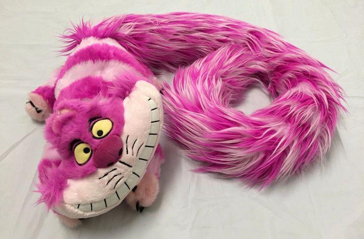 "Alice in Wonderland ""Cheshire Cat"" Beautiful Fury Tail Plush Disney Exclusive | eBay"