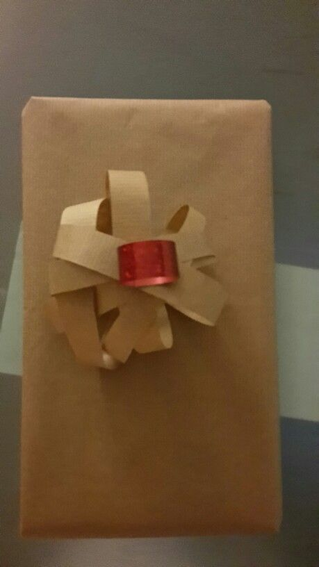 Paper coiled together