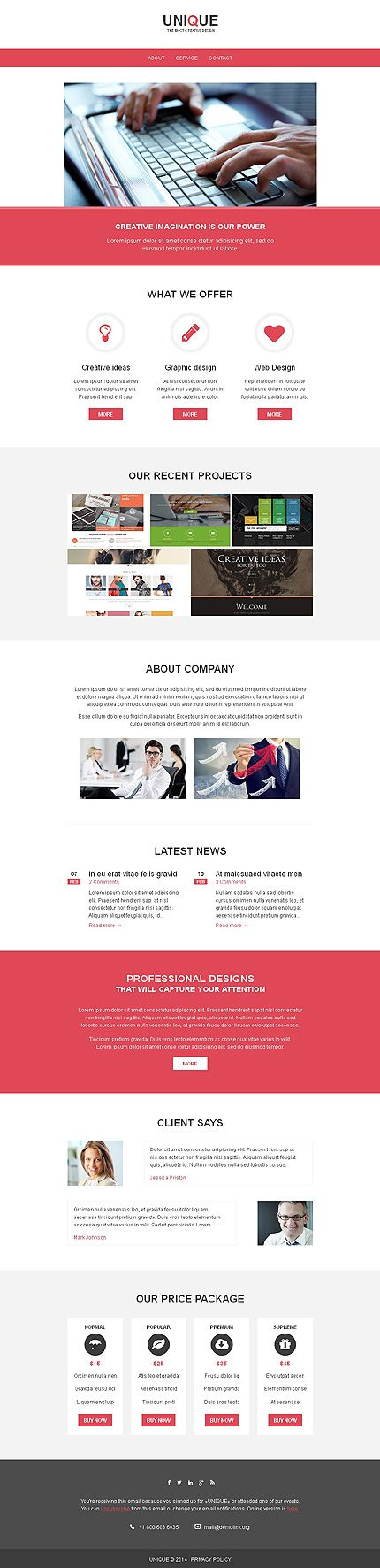 55 best Newsletter Templates images on Pinterest Mobile app - email newsletter template