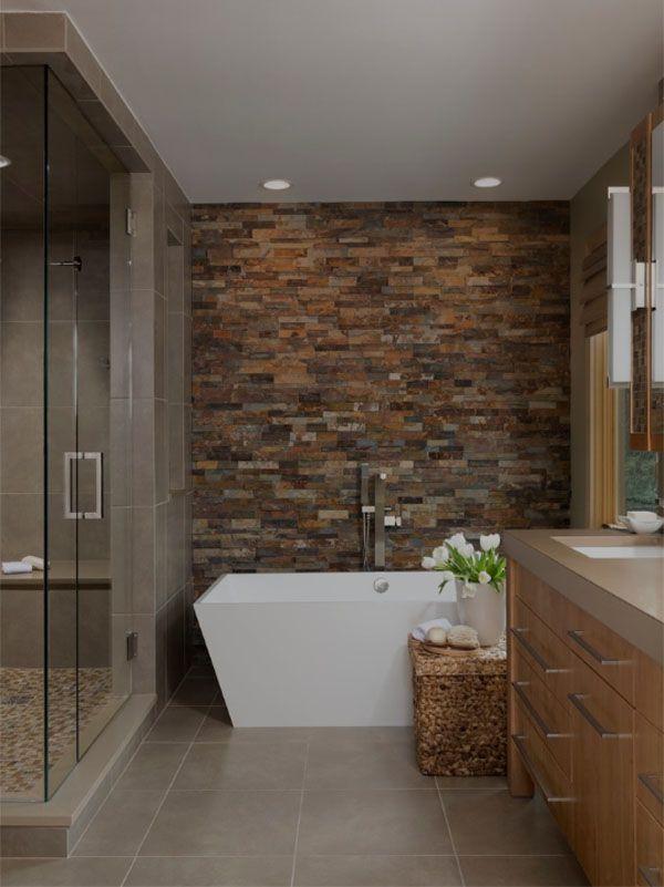 Natural Stone Bathroom Ideas Nature Bathroom Designs